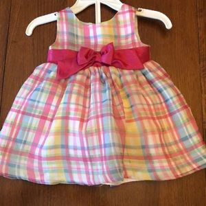 Adorable Kidture dress w layers, bow & bottoms